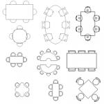 Tables, différentes formes
